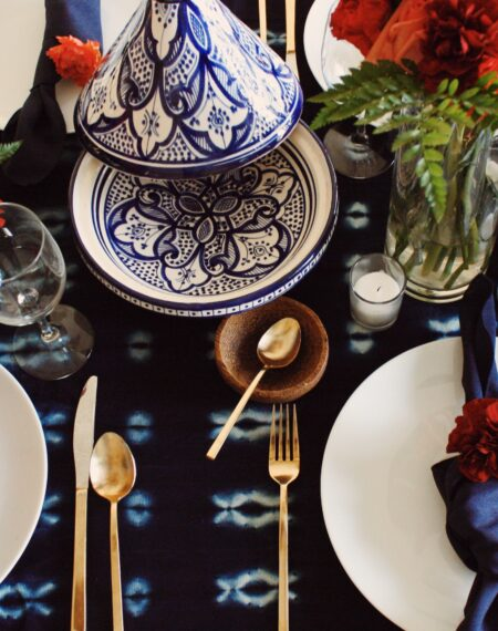 Moroccan Table setting