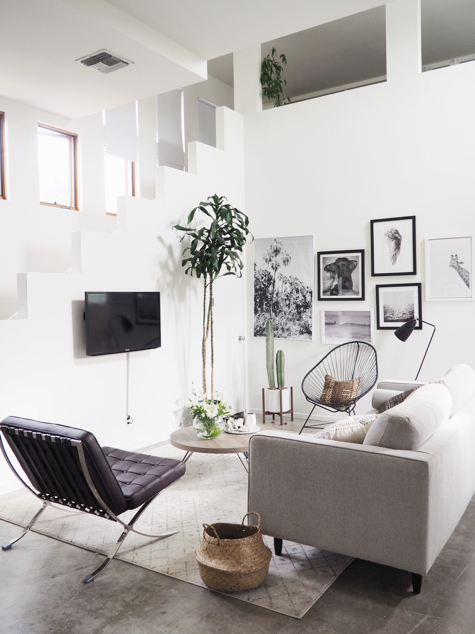 How to Create a Scandinavian Modern Living Room